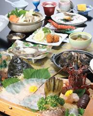 【平日限定】伊勢海老と鮑が食べられるご奉仕価格!海鮮会席ご奉仕プラン「現金特価」