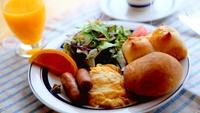 【朝食付き】自家製はちみつたっぷりの朝食を召し上がれ!海を見ながら贅沢気分♪お夕食はお持ち込みOK◎