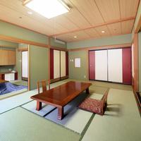 【禁煙】次の間和室<10畳+6畳・バストイレ付>