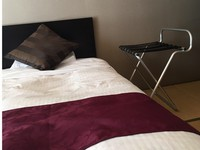 【禁煙:1階和室ベッド】川側8畳小さな部屋ツインルーム