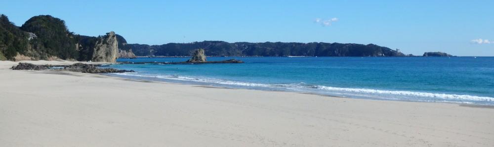 リゾート・イン碁石が浜近くの吉佐美大浜海水浴場 ビーチ
