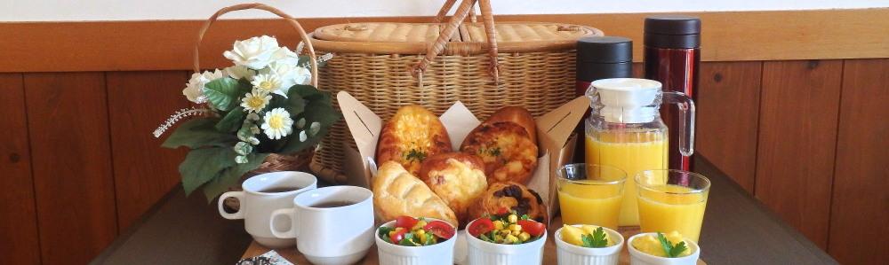 伊豆 下田ペンションの朝食