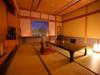 和空間+貸切露天リニューアル和室12〜15畳【バス無、禁煙】