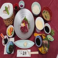 【平日限定】☆ビジネス2食付プラン☆〜馬刺し御膳〜