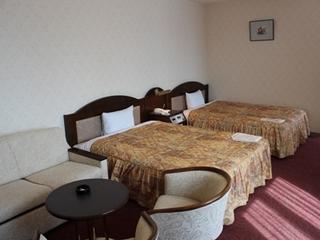 DXツイン禁煙室のみ お部屋広々36平米 ベッド幅140cm