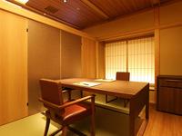 【あんしん巣ごもりプラン】スタッフの入室も控えます。ご夕食は安心の個室会場