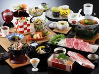 【夕朝食|お部屋食確約】旬菜会席|黒毛和牛と旬の味覚をご堪能