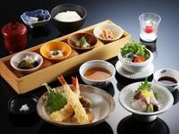 【日帰り】おなじみ料理和楽|ラウンジドリンク券付き天婦羅ランチ