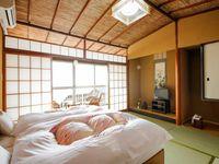 和室8畳ベッドタイプ(ツイン/ウォシュレットトイレ付)