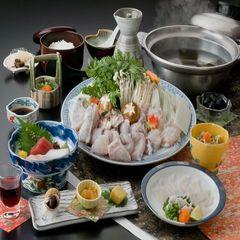 【冬本番】てっちり鍋☆ふぐ料理で心も身体もポッカポカ☆ ≪お部屋食≫