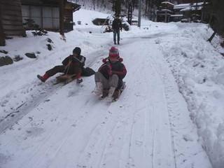 【春得】スキー、クロスカントリースキー、スノーシュー、そり、あったか温泉ファミリープラン
