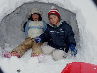 【添い寝 歓迎】雪遊び!!あったか温泉!!雪国物語☆ファミリープラン