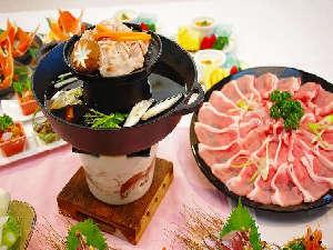 奥美濃ビッグゲレンデリフト券付 ◆夕食はボーノポーク焼きしゃぶお肉食べ放題◆ (●^o^●)