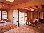 【信州旅】広々客室でゆったり♪ 平成館和洋室(ベット・内湯付)