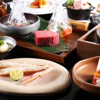 【シェフズルーム焙窯焼き個室】 〜贅沢の極み〜 季節の厳選食材や、神戸牛や鮑を食す
