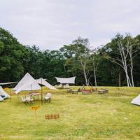【黒姫CAMP】テント&ホテルプラン♪【1泊2食BBQ付】