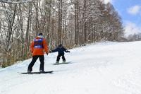 【初心者向け】スノーボード1日プライベートレッスンプラン【1泊2食】
