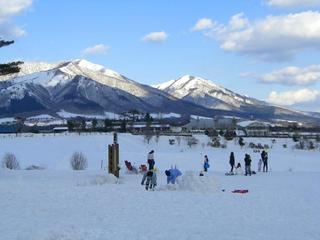 ひるぜん高原、スキーツアーと、ジンギスカンナベ プラン