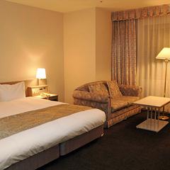 ダブルルーム◆ベッド幅200cm・ゆったりサイズ
