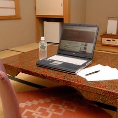 ビジネス利用のお客様におすすめ!和室での☆広〜い机で快適お仕事!和室ビジネスプラン(朝食付)