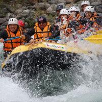 【ラフティング1日コース】ロングコースに挑戦!利根川の激流を満喫!<1泊2食付>