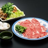 上州牛すき焼きコース★上州牛サーロイン200gボリューム
