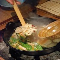 〈個室囲炉裏料理竹コース〉上州牛・麦豚・赤城鶏を焼き味わう四万温泉でただ1軒★一番人気プラン