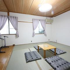 和室バストイレ無・2〜4名(畳かじゅうたん敷/禁煙)