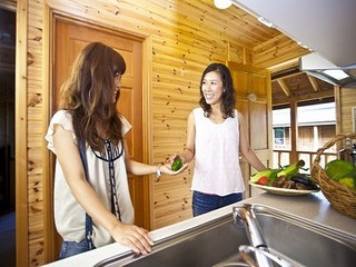コテージ・貸別荘 リゾートステイ3 バーベキューが出来る屋根付きテラス棟