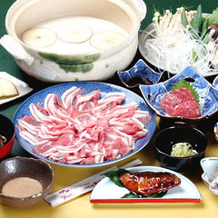 ◆冬季限定◆地元食材どっさり≪選べる3種類≫あったか冬鍋!戸狩温泉スキー場まで5分!【2食付】