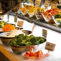 【オンラインカード決済限定】約30品目☆和洋朝食バイキング付■農園直送新鮮野菜が人気!