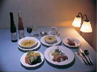 ご夕食の一例