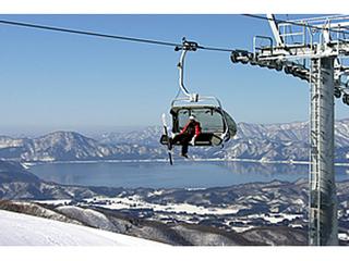 たざわ湖スキー場【すべっ得】1日券付プラン -2食付-