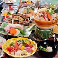"""【瀬戸内会席】""""ちょっと欲張って""""海鮮×お肉料理でボリュームUP"""