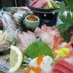 板長特選!豪華お造り盛り合わせ!日本海の幸をたっぷり堪能!楽プラン