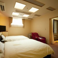 新設!露天風呂付客室 【和室+ベッド室】の和洋室 専用マッサージチェアで心身リラックス楽プラン