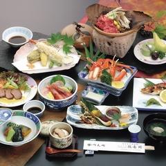 政竜楽プラン(和室10畳〜)部屋食 日本海の幸等ボリューム満点十品【せいりゅ〜かっく♪】