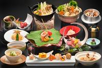 【和食料理長こだわり】旬の食材を使用した甲州旬彩会席料理プラン♪