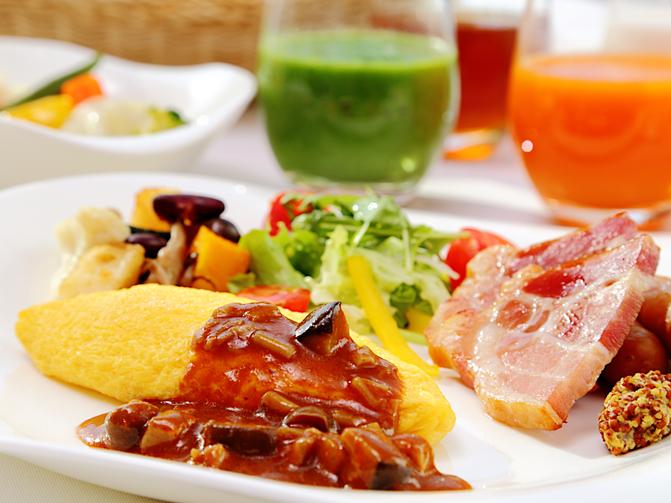 【楽天スーパーSALE】朝食付 和洋食ブッフェで始まる1日