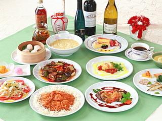 ワンちゃんと泊まれる洋食と中華日替わりフルコース レギュラーディナープラン