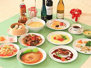 フォアグラ&フカヒレが日替わりで楽しめる スペシャルディナープラン
