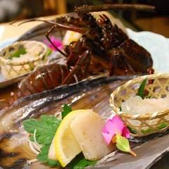 【◎クチコミ投稿でポイント10倍◎】楽天限定■伊勢海老&鮑■2大美味☆石鏡港で獲れた海の幸を贅沢に♪