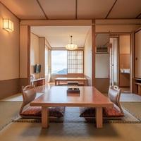 露天風呂付客室■和室8畳+掘炬燵■海側【Wi-Fi完備】