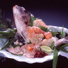 【記念日・お祝い】水引の鯛姿造り付きプラン♪お部屋食+1ドリンクサービス+ケーキなどの別注もOK