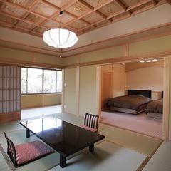【和楽亭/和(なごみ)】〜露天風呂付き和洋室タイプの特別室〜