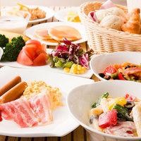 【平日限定】「万博おゆば」入浴券&選べるホテルの洋食ディナー付きプラン(2食付き)