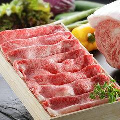 【米沢牛すき焼き】驚き!常温で溶ける牛肉★至福の米沢牛すき焼きプラン