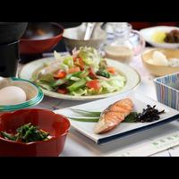 東北の方限定★新鮮野菜の美味しい和朝食とpH10の冷鉱泉を堪能!【1泊朝食】