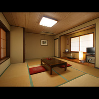 築100年の純和風客室【10〜12畳トイレ付】
