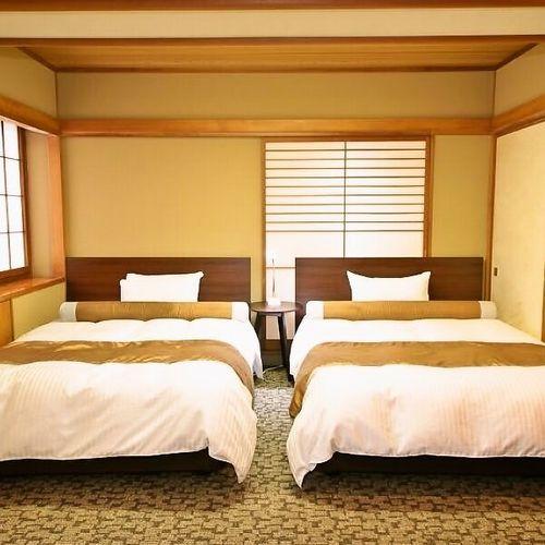 【部屋食確約】和洋室 和室10帖+ツイ...